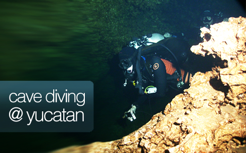 guided cave diving
