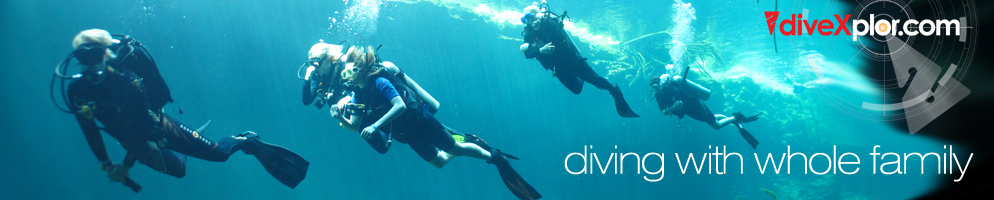 diving at riviera maya
